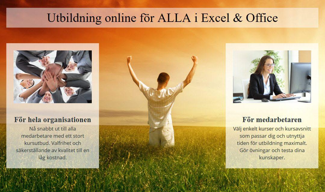 Lansering av nya e-kurser