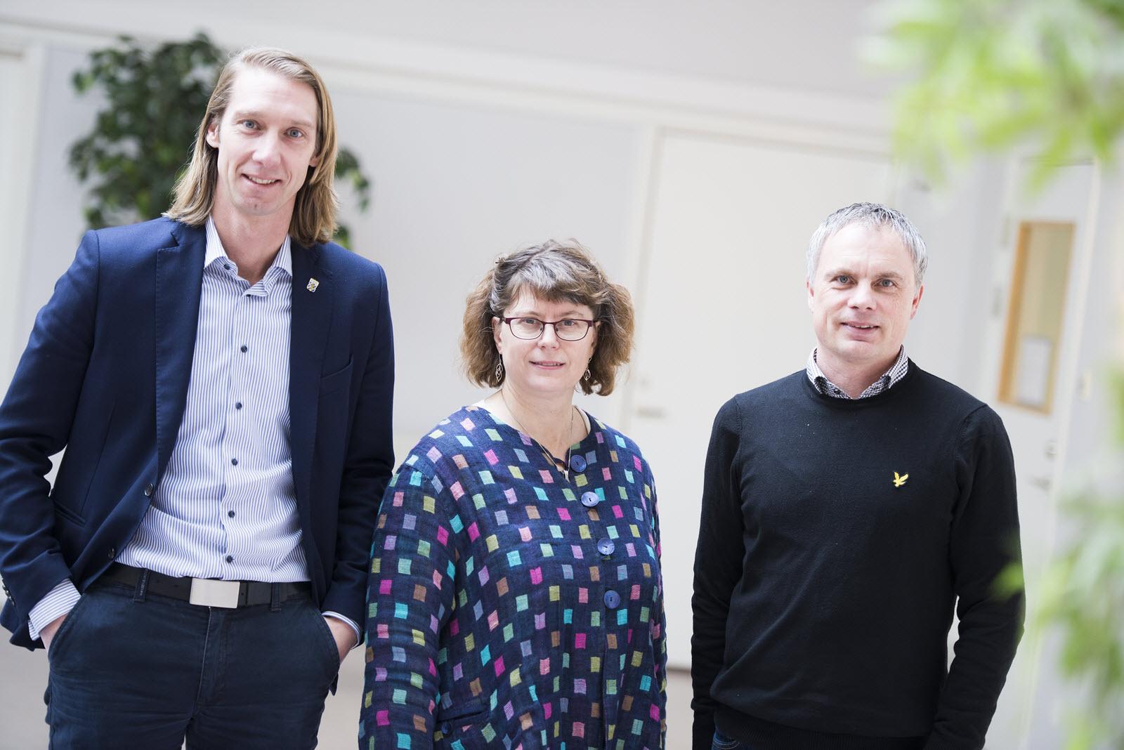 Tobias Ljung, Anna-Karin Petrusson, Robert Larsson